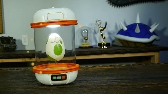 Need more incubators for all the eggs you're hatching in Pokémon Go? Try making making a real life Pokémon Go egg incubator. AWE me's DIY Prop Shop put together this impressive recreation of a Pokémon Go egg incubator using everyday objects. Learn how to make your own in the video below. Read more