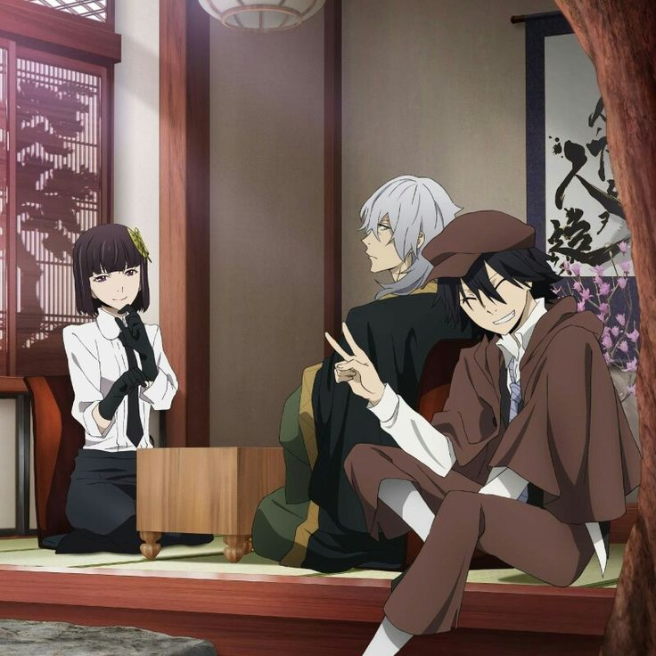 Fukuzawa, Ranpo, and Yosano