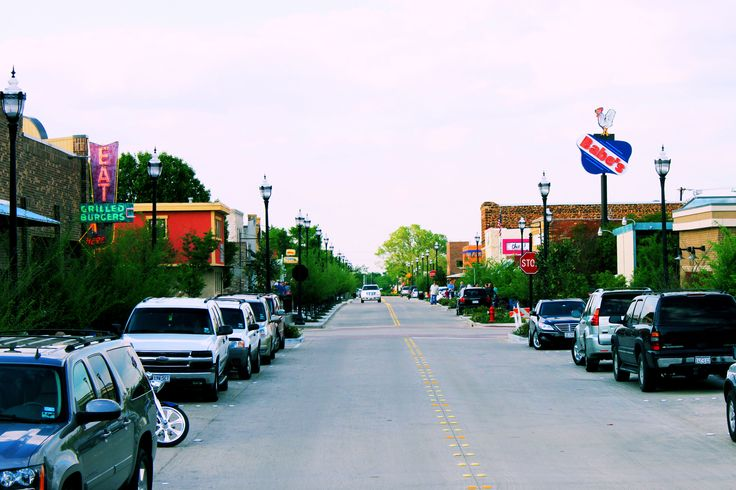Charming downtown roanoke texas thelonestarstate the for Texas motor speedway college station