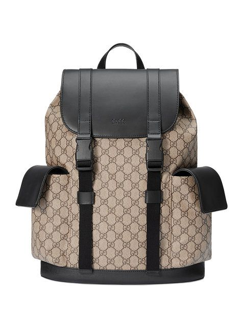 78c4935e28 GUCCI Soft GG Supreme backpack. #gucci #bags #lining #canvas #nylon  #backpacks #suede #