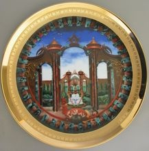"""""""Cathay""""is the fourth plate in the collection entitled """"Lands of Fable"""" by F.F.Long ~ I love this collection! :)"""