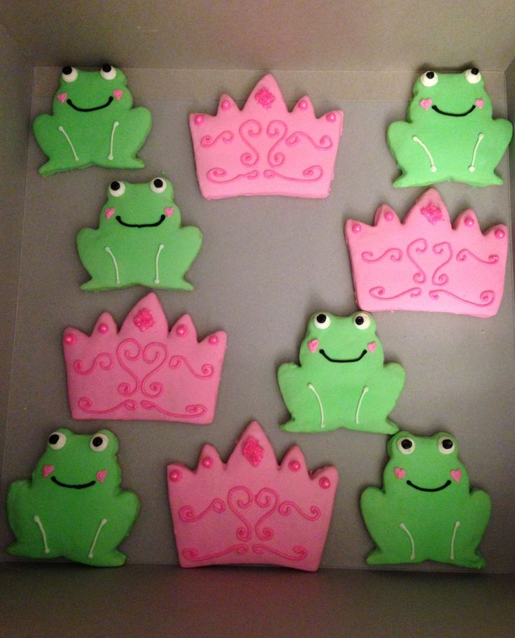 25+ Best Ideas About Frog Cookies On Pinterest