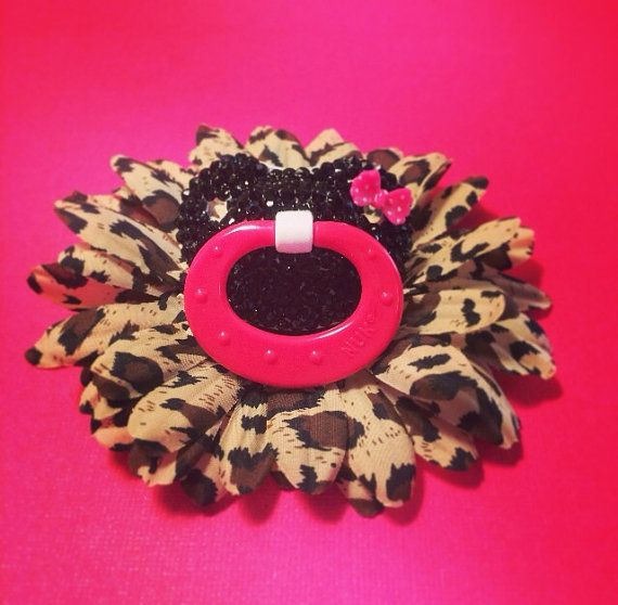 Baby bling rhinestone Nuk pacifier by lilpinkcupcake on Etsy, $21.00