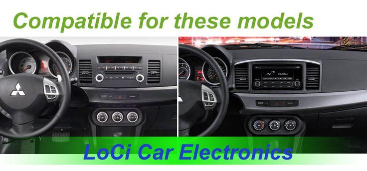 2007 - 2015 Mitsubishi Lancer android multimedia player w dashboard