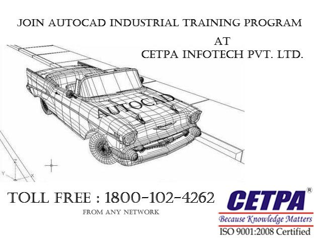 List of the best AutoCAD training institutes, AutoCAD course centers in Noida India at CETPA Infotech Pvt. Ltd.Launch your career by joining India's best Autocad training company CETPA, and become a well versed software professional.