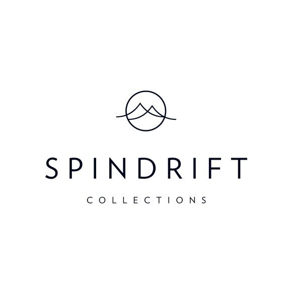 Spindrift Collections logo by yours truly. #Logo #MadeBySmackBang #SmackBangDesigns