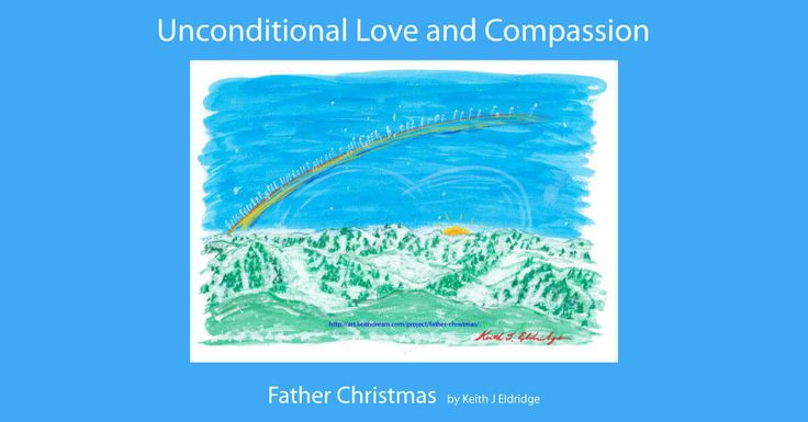 Father Christmas, the Spirit of Love and Compassion