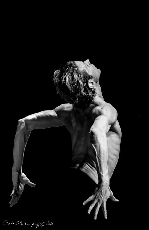 "Julien Favreau in"" Bolero""/ Bejart Ballet Lausanne / 2013 / Photography by Sasha Gouliaev..."