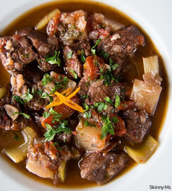 Slow Cooker Thick & Chunky Beef Stew – Nom Nom Network