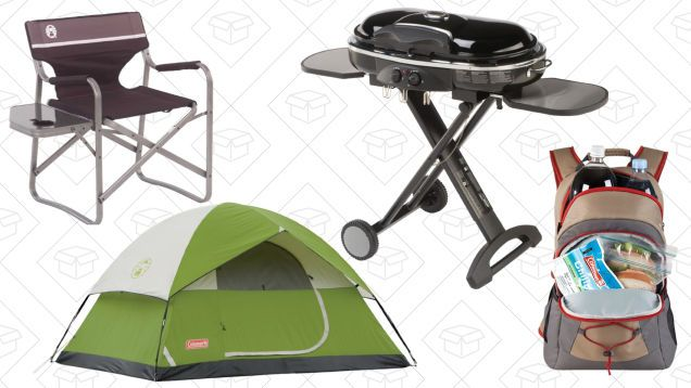 Get Out of Town With Amazon's One-Day Camping Gear Sale