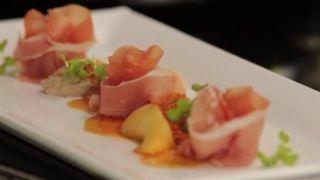 Recepten met eend, een eendenmousse met ham door Felix Alen!