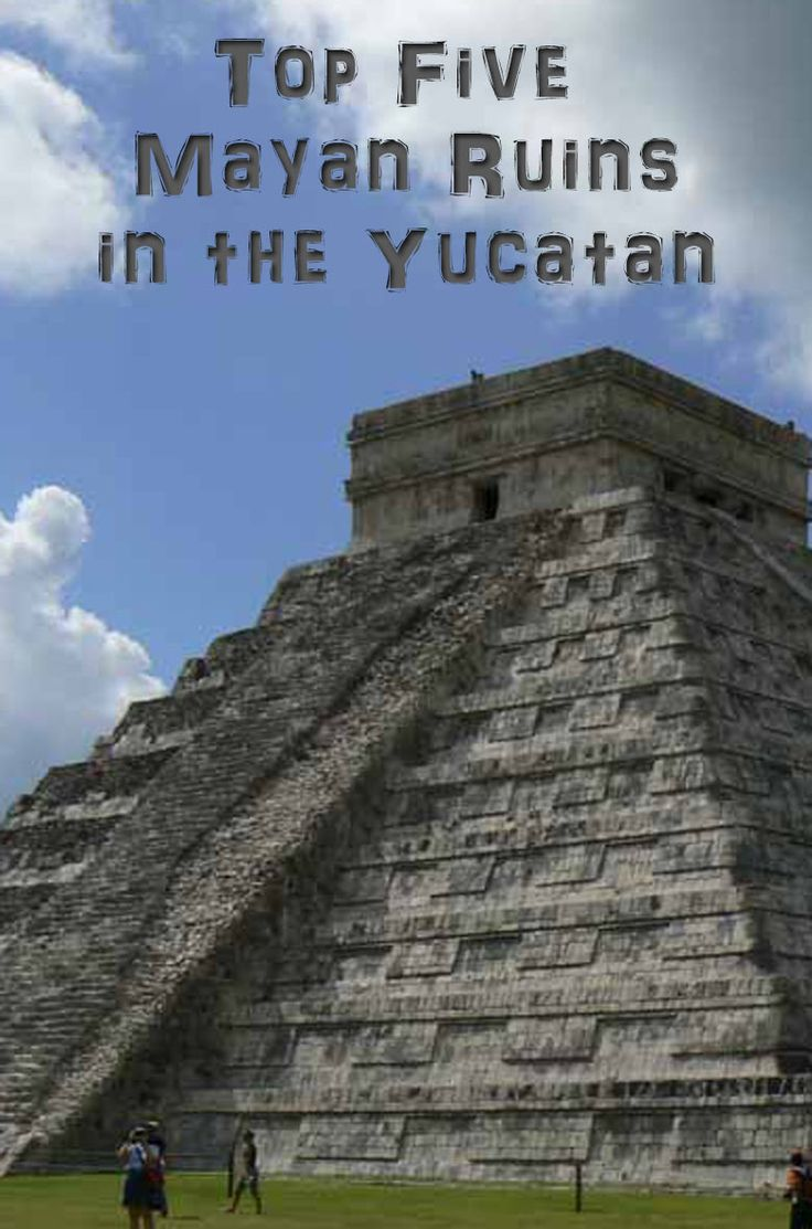 "A little different to what I usually pin to this board - this is a bit more narrow in terms of ""range"" of places to visit; they're all Mayan ruins. But if you happen to be the archaeological type, then hey, this should be right up your street!"