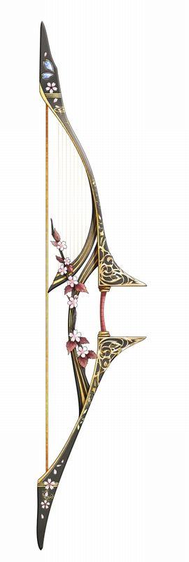 Jeden łuków podobnych do tych, co używa oddział wojska odpowiedzialny za zagrzewanie do walki i sławienia potęgi królestwa. Struny i strzały, you know <D