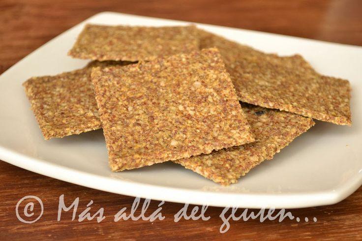"""Más allá del gluten...: Galletas Saladas de Semillas de Girasol """"Vivas"""" (Receta GFCFSF, Vegana, RAW)"""