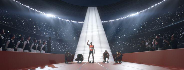 Usain Bolt boit du champagne Mumm pour gagner #communication