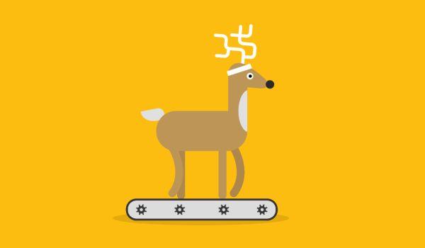 Google Santa Tracker Animations by Markus Magnusson, via Behance