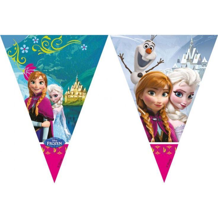Disney Frozen Vlaggenlijn Afmeting:lengte 2 meter - Disney Frozen Vlaggenlijn
