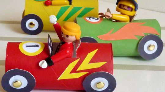 Fabriquer des petites voitures pour playmobil