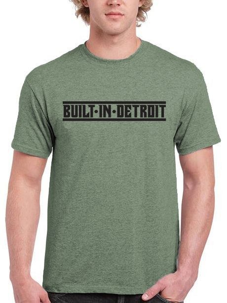 BUILT IN DETROIT T-Shirt made in the USA FORD CHEVROLET MUSTANG CAMARO DODGE CHRYSLER PONTIAC GM CADILLAC MOPAR ... X Bros Apparel Vintage Motor T-shirts ...?. CLICK ON IMAGE.....         www.etsy.com/shop/xbrosapparel  .   http://stores.ebay.com/xbrosapparel/