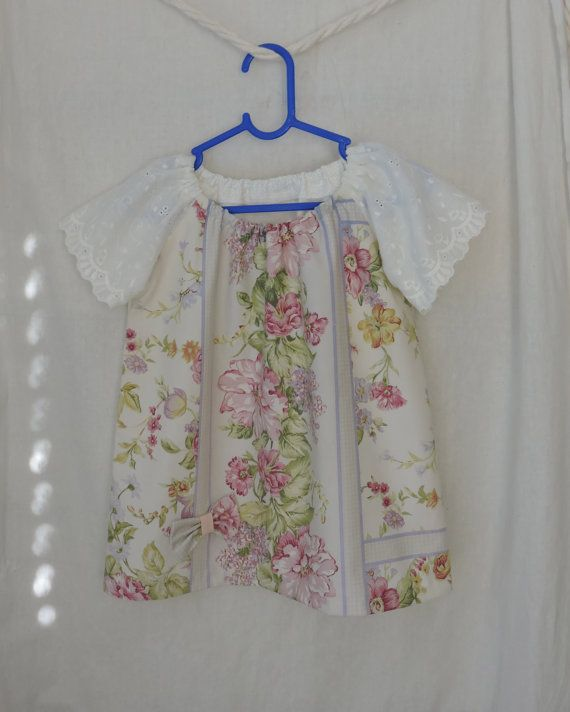 Toddlers Dress Size 2 Floral Sleeves Girls Babies by dezignhub