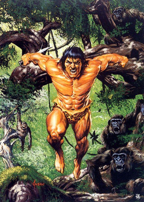TARZAN Lord of the Apes John Clayton (Marvel Legends) Custom Action Figure