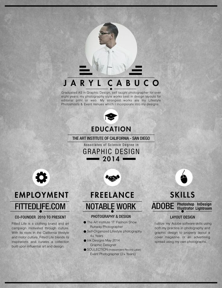 Best  Photographer Resume Ideas On   Cv Structure