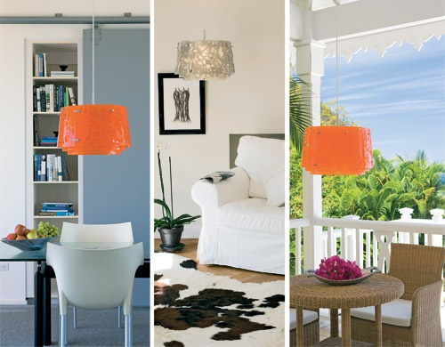 collage pendant lamp