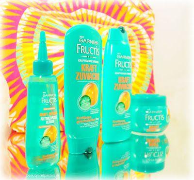 Beauty and Pastels: Das neue GARNIER Kraft Zuwachs, Pflege für stärkeres Haar http://www.beautyandpastels.de/2015/07/das-neue-garnier-kraft-zuwachs-pflege.html #ilovemyhair #GarnierDeutschland