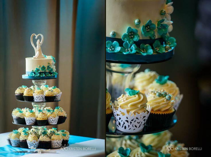 Wedding Cake | Wedding Cupcakes | Weddings on Vancouver Island | Qualicum Beach Memorial Golf Club Weddings | Qualicum Beach Weddings  | Kristen Borelli Photography |