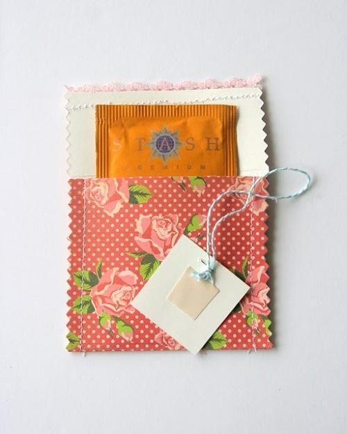 Tea Party Invite Idea -- i love this for a ladies' tea before graduation!!