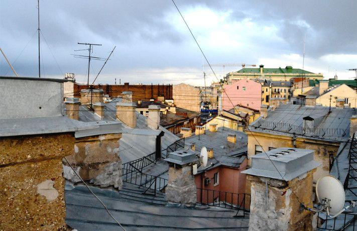 вид с крыши петербург - Поиск в Google