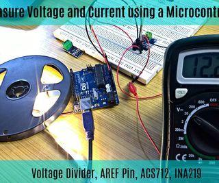 inventionhardware.com Medir la Corriente y el Voltaje con un Microcontrolador || Divisor de Voltaje || ACS712 || INA219