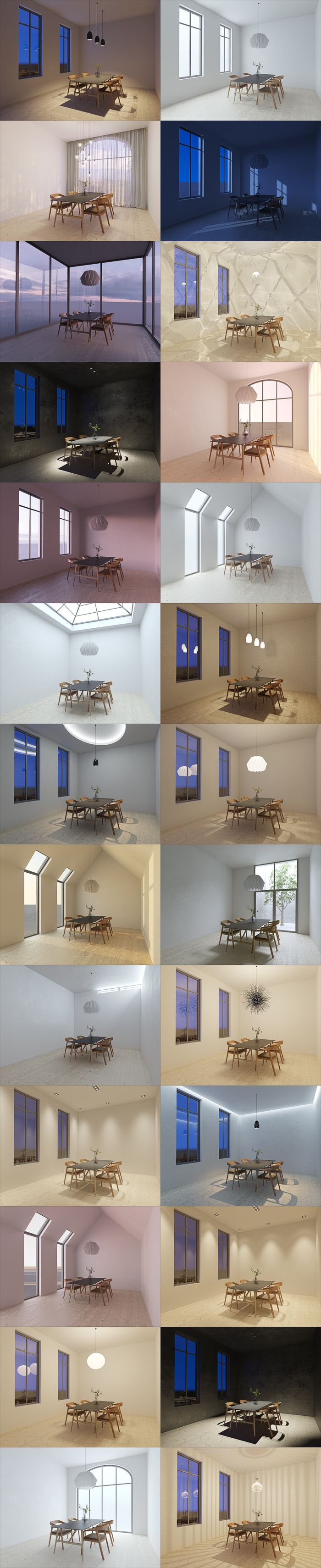 Vray Interior Lighting / VISCORBEL