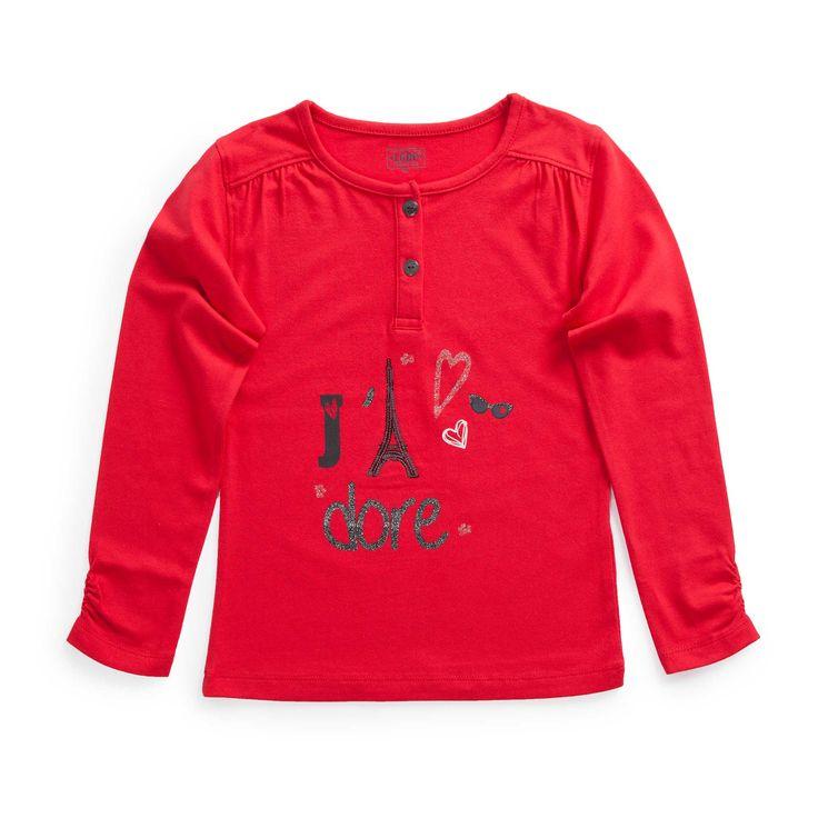 "Tshirt jersey stretch ""Paris Chic by la Cie"""
