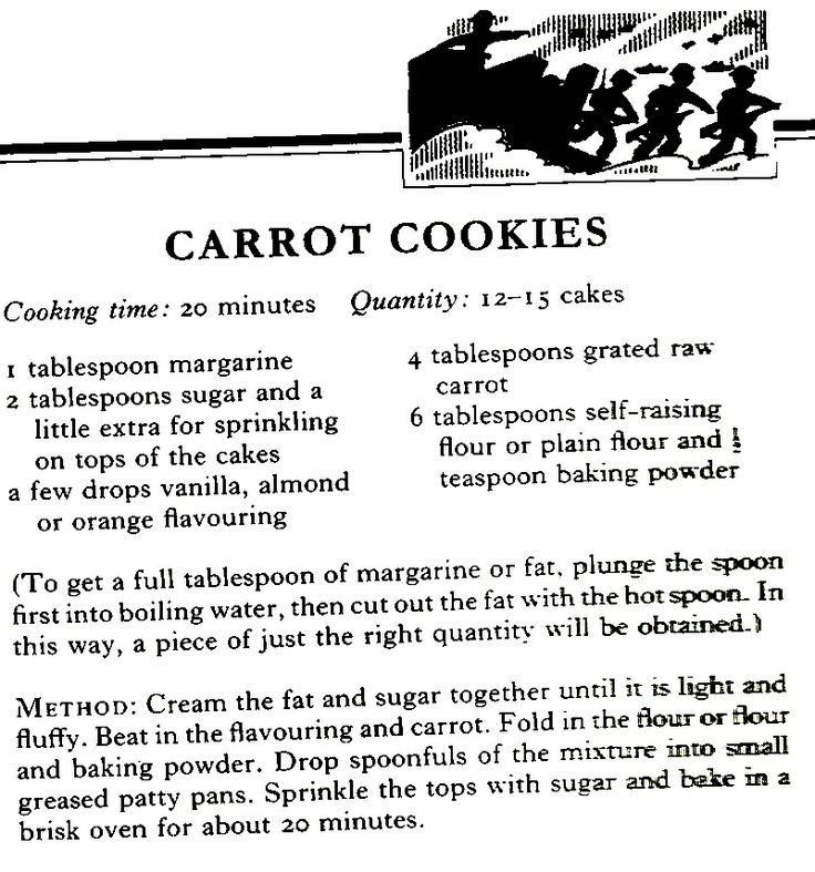World war 2 ration cookie recipes
