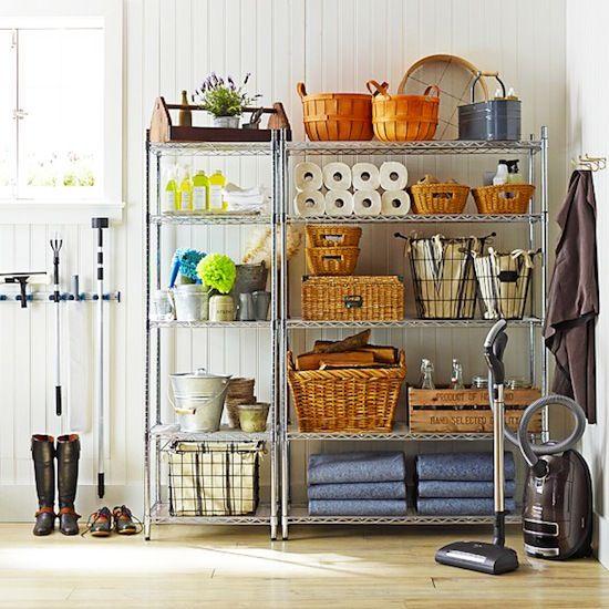 Basement Storage Shelving Ideas: Best 25+ Wire Shelving Ideas On Pinterest