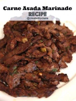 great carne asada marinade recipe with recipe for carne asada fries too!