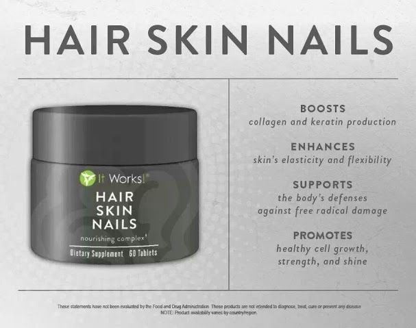 Get the stronger, shinier, beautiful hair and nails you have always wanted and apply to skin for a more youthful YOU! Find #hairskinnails at Boosts your natural collagen and keratin production to support healthy hair growth! #hairloss #balding www.okgethealthy.com