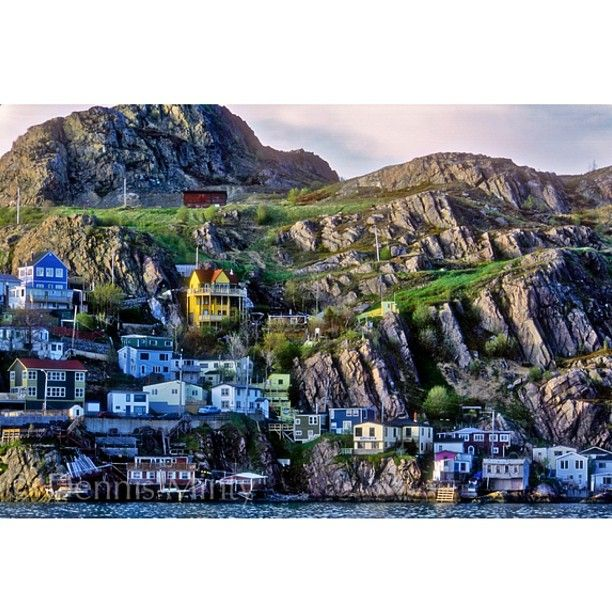 The Battery - a neighbourhood in St. John's,  capital city of the province of Newfoundland, Canada