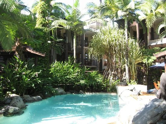 Hibiscus Gardens Spa Resort, Port Douglas, Australia - just steps away from Four Mile Beach