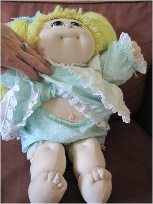 Cabbage Patch Doll Body Pattern | Cabbage Patch Inspired Soft Sculpture Doll ~ FREE SHIPPING :: Spot's ...