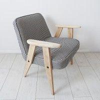 Fotel 366 z lat 60-tych proj. Józef  Chierowski, filtr