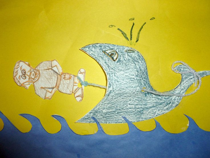 Jonah and the giant fish kid s craft bible school pinterest