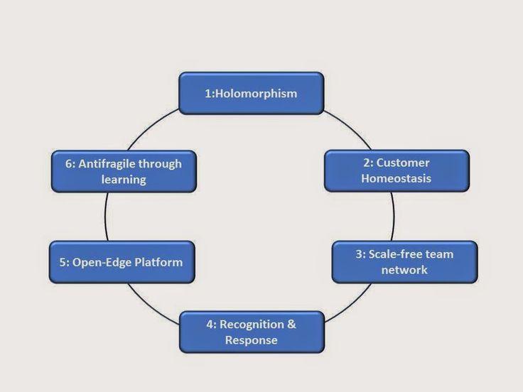 Architecture Organisationnelle: Six Principes pour l'Entreprise 3.0