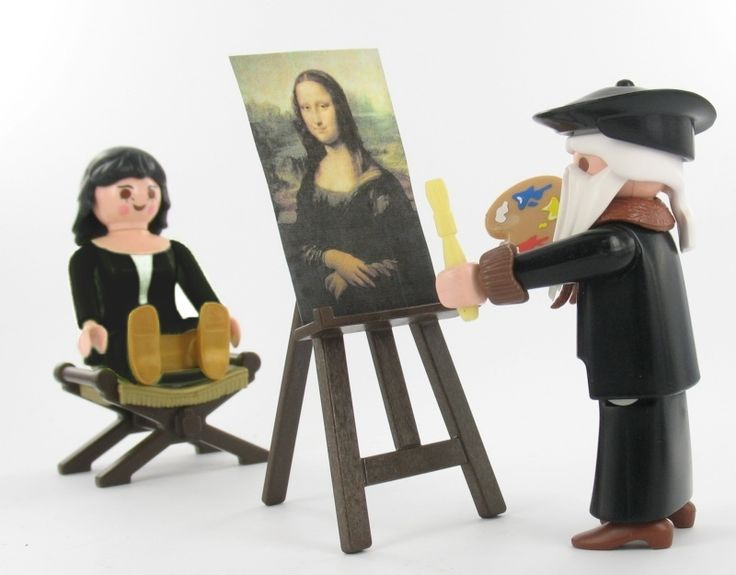 Léonard de Vinci & Mona Lisa Custom Alizobil