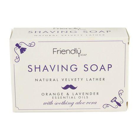 Friendly Soap scheerzeep is geschikt voor het scheren van haren in het gezicht en op het lichaam. Geschikt voor mannen en vrouwen. 100% natuurlijk en vegan!