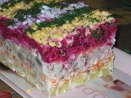 salad shuba. SOOO good!!!