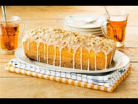 Koopmans Cake & Koek met sinaasappelglazuur en amandelschaafsel maken