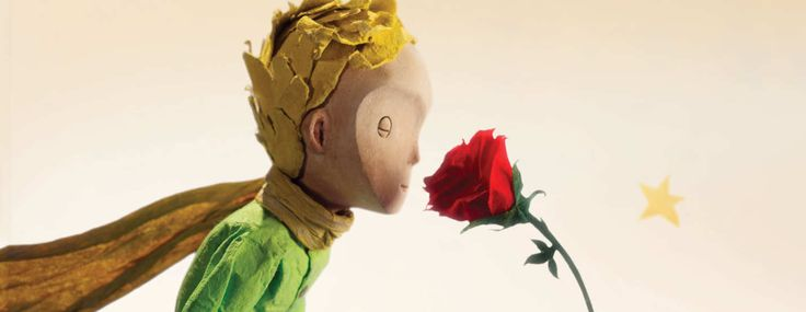 "This image shows the Little Prince and his treasured rose in a scene from the finished film. ""People have strong feelings for The Little Prince,"" Juhasz says. ""Our work was so much about protecting those feelings."""