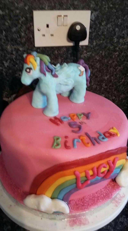 Pony cake x